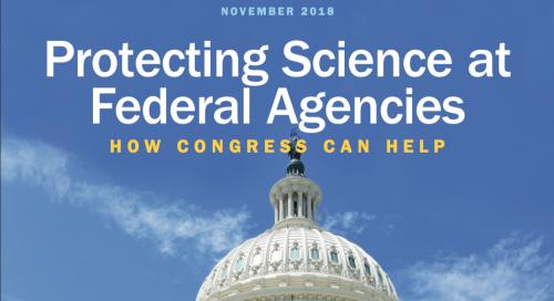 november 2018 protecting science at federal agencies: how congress can help
